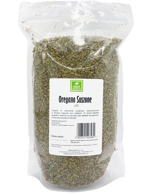 Oregano suszone 200 g - GREEN ESSENCE